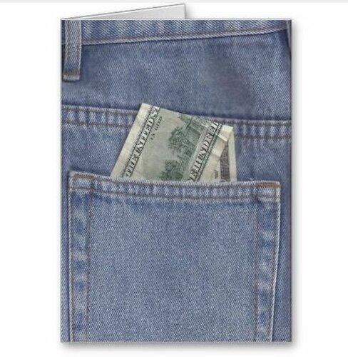 Как оформить денежный подарок