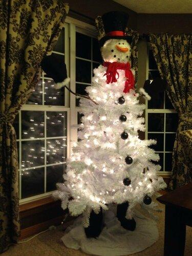 Ёлочка-снеговик