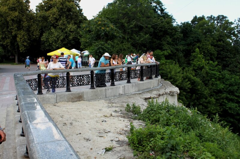 Новая площадка обозрения Мариинского парка