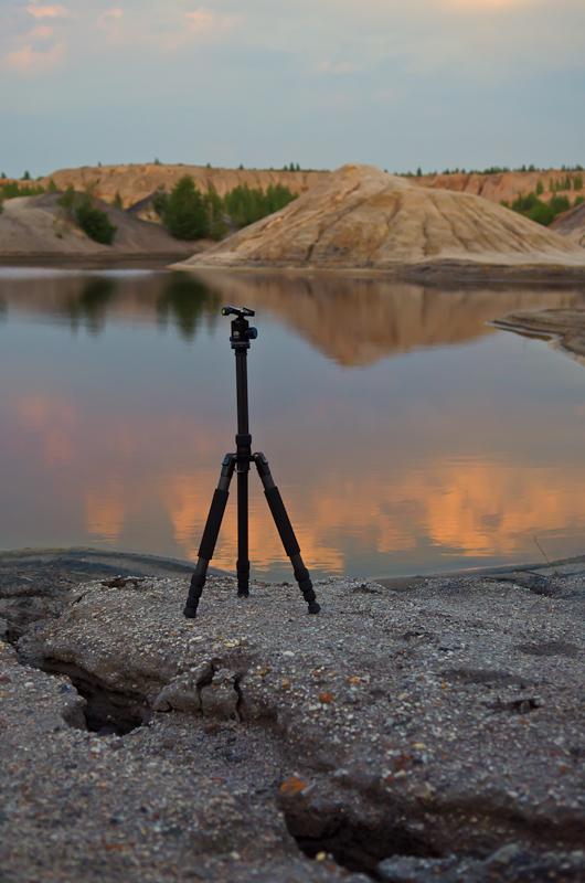 Фото 9. Мой верный друг - карбоновый штатив Sirui T-2204X с головой G20X. Без трипода не снять хороший пейзаж на закате или на рассвете