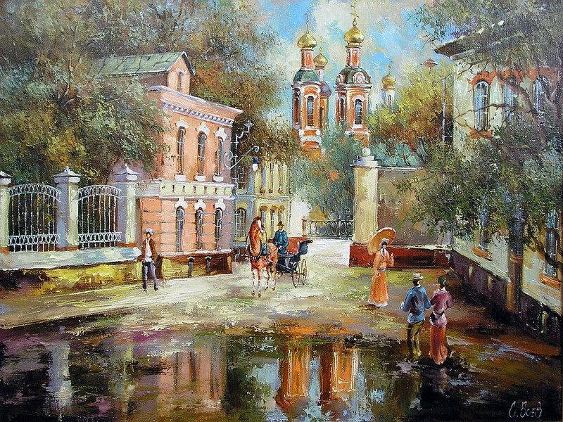Живопись художника Боева Сергея Юрьевича.