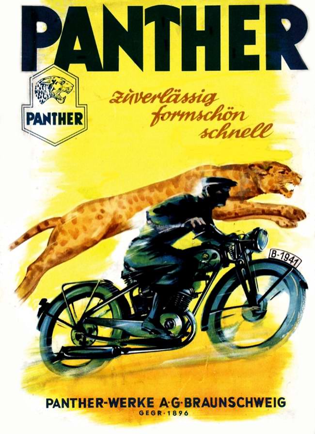 Panther Werke - Германия (1941 год)
