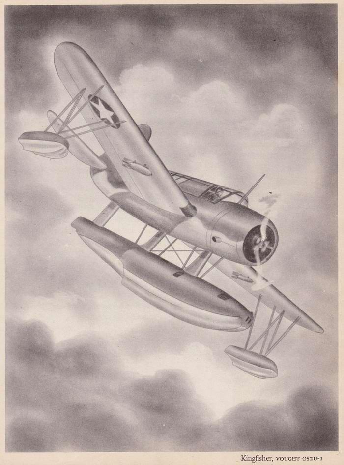Vought OS2U-1 Kingfisher - разведывательный гидросамолет