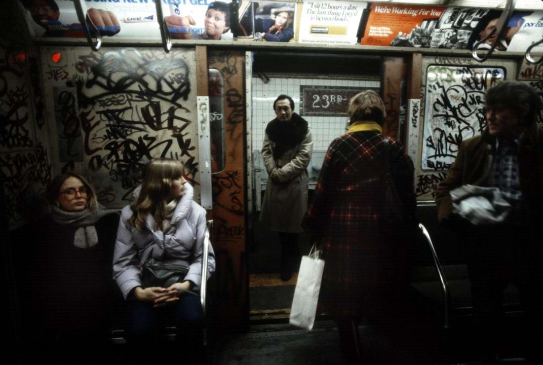 Американский фотограф Christopher Morris: Граффити и андеграунд нью-йоркского метро (2)