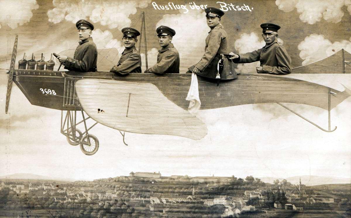 Художественные фоны для фотографий авиационной и воздухоплавательной тематики (15)