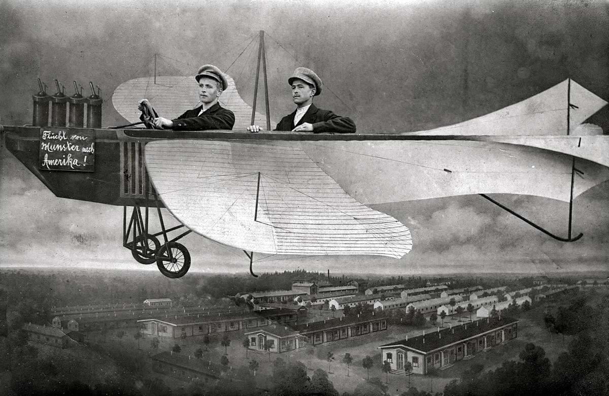 Художественные фоны для фотографий авиационной и воздухоплавательной тематики (26)