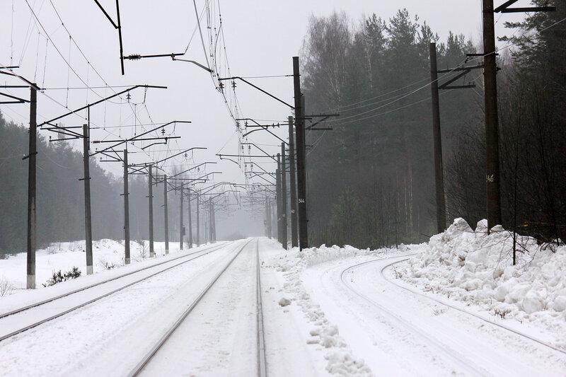 Подъездной от станции Орехово