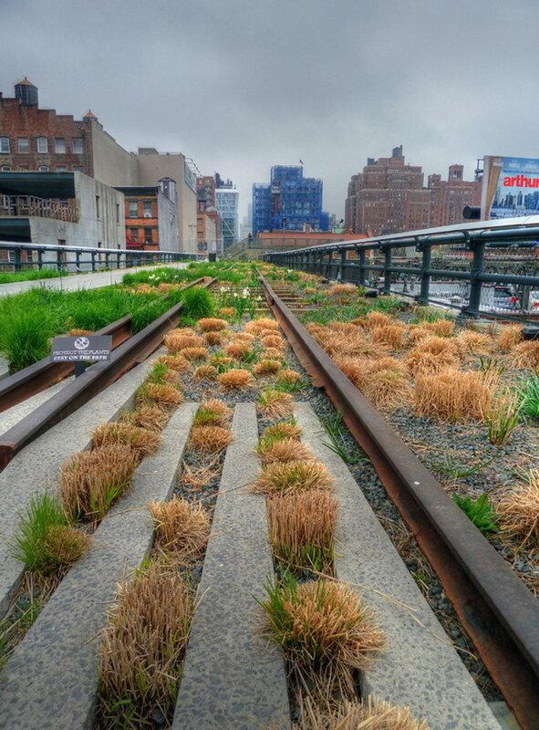 Хай-Лайн Парк (The High Line). Нью-Йорк