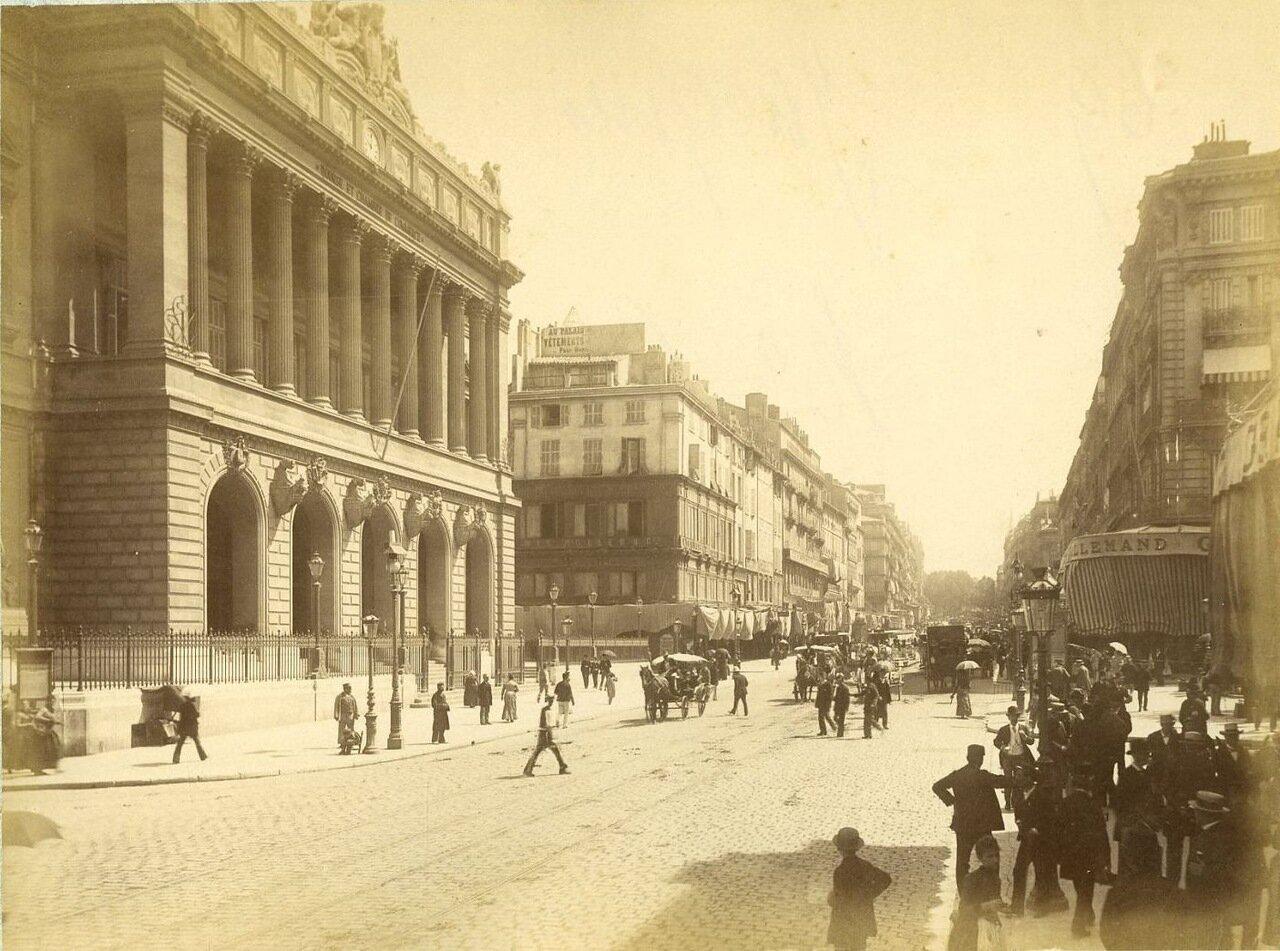 Биржа и улица Канебьер