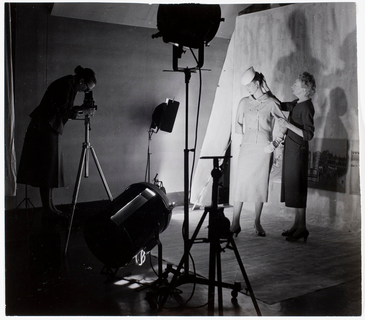 1950-е. Съемки для журнала