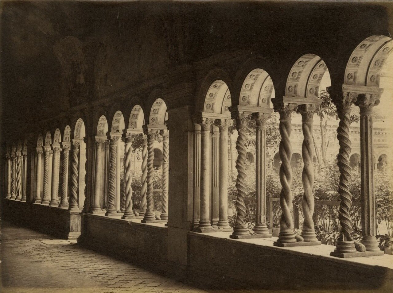 Базилика Святого Павла. 1870.