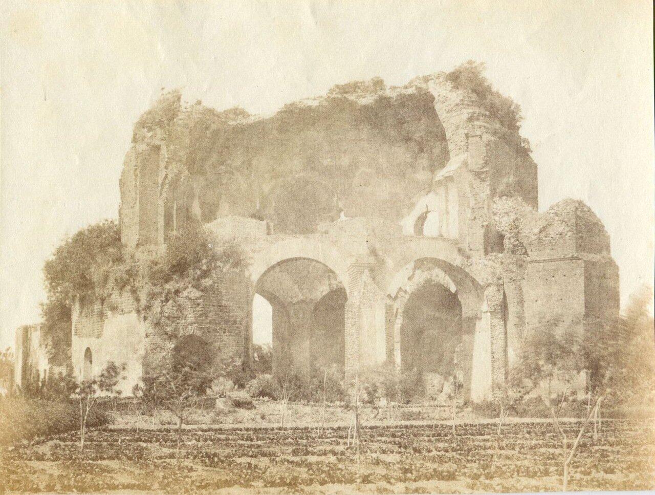Храм Минервы Медицейской. 1855