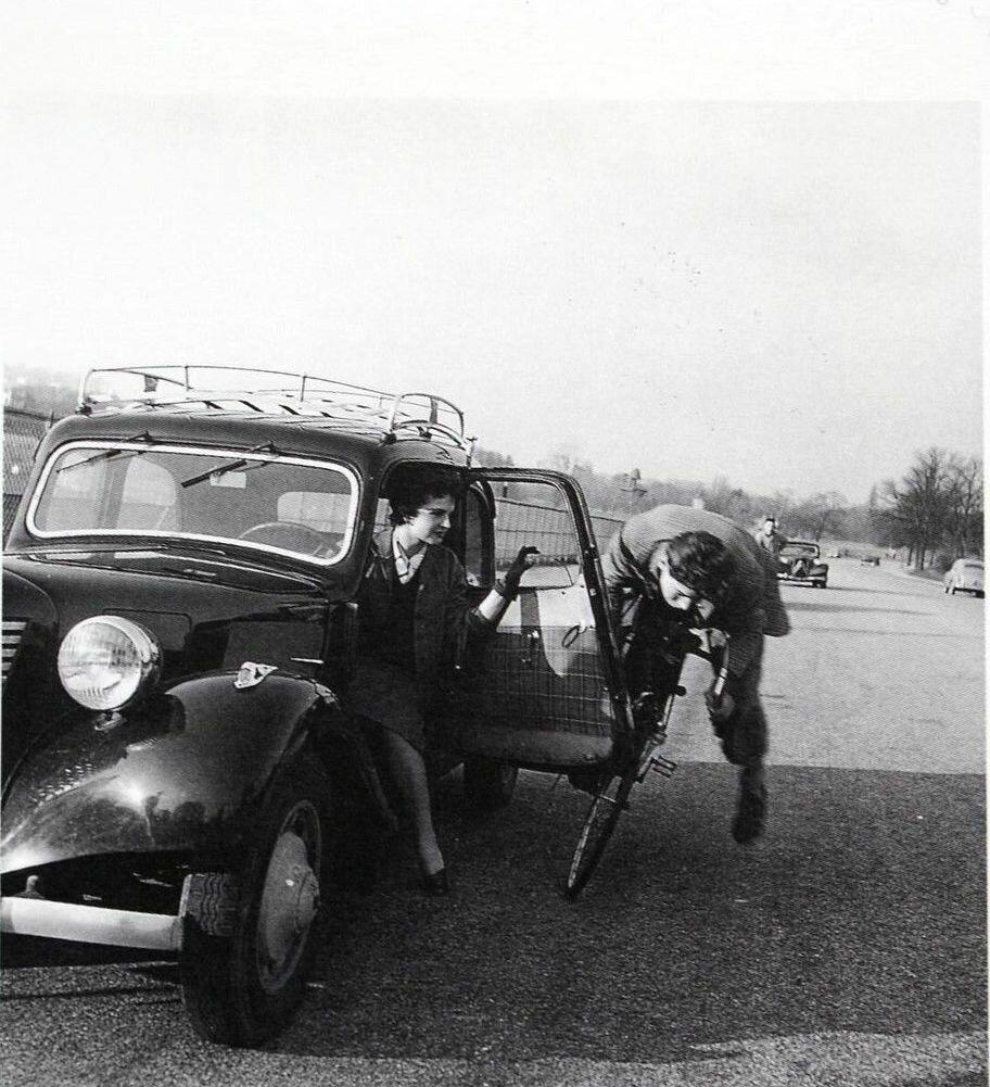 1955. Вело-автоавария