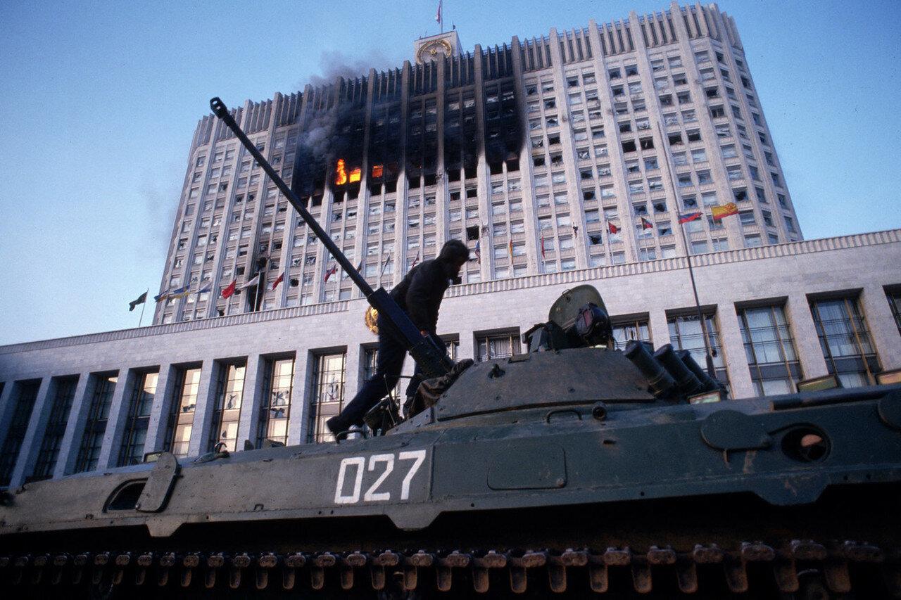 1993. Москва. Штурм Белого Дома