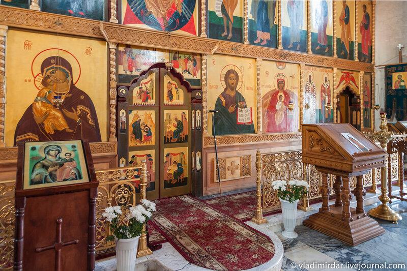 Иконостас Васильевского собора