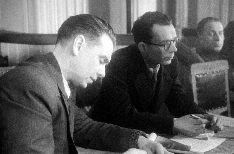 Писатель Л.Леонов, Харьковский процесс, 1943