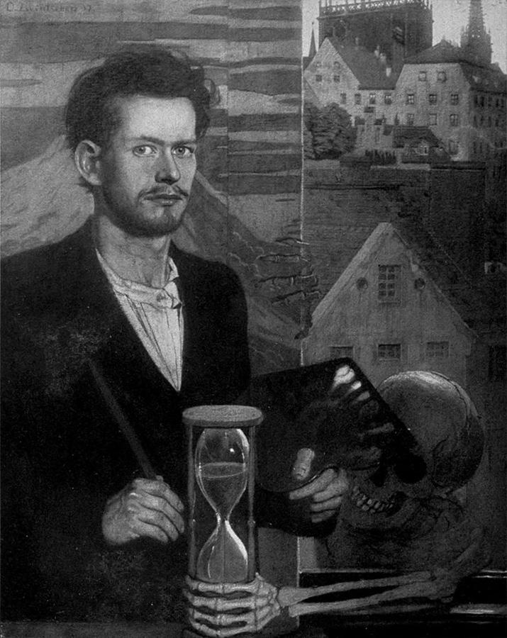 Оскар Цвинчер, Автопортрет