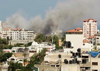 В Секторе Газа под обстрел попала больница