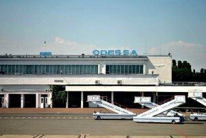 Водный салют в Одессе - в честь первого рейса Air Moldova