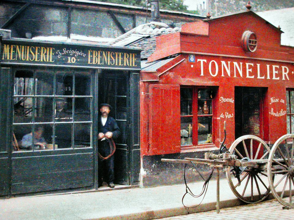 1914 8 et 10 Rue du Montparnasse 22 Juillet 1914 by Passet.jpeg