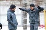 Спартак готовится к матчу с Кубанью