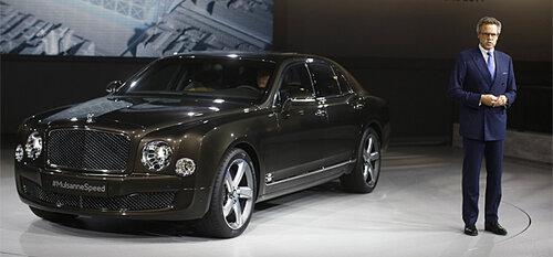Руководитель компании Bugatti нарисовал портрет потенциального владельца автомобильной марки