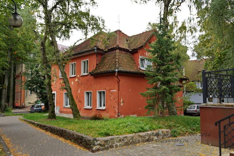 Дом немецкой постройки. Светлогорск-Rauschen