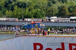 Команда Эйрволюция Дарвина, Фестиваль Red Bull Flugtag 2015, Москва