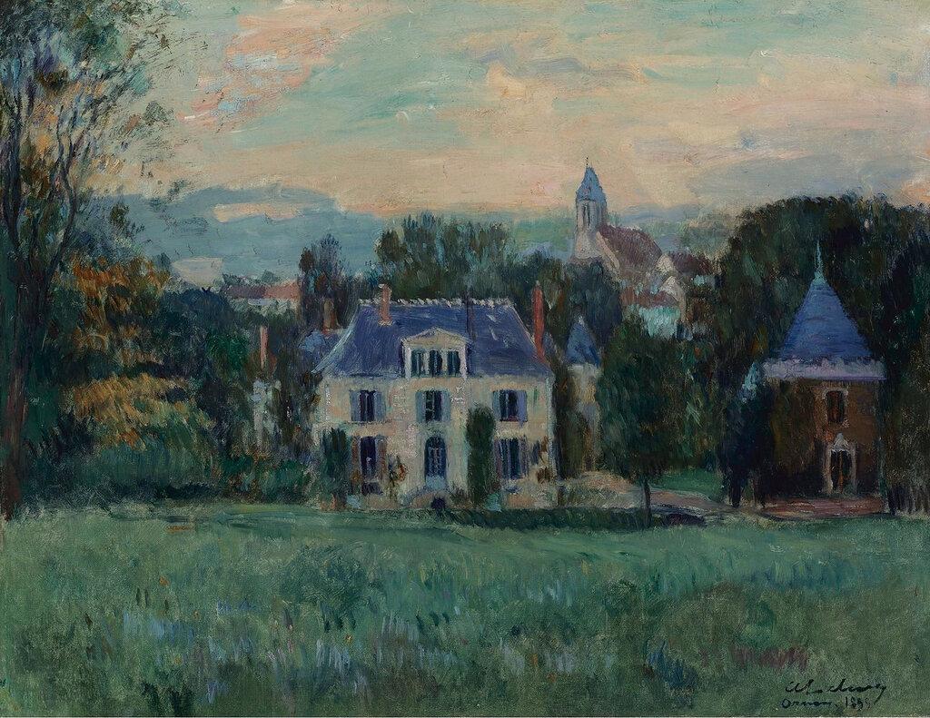 Albert Lebourg - The House of Paulin, 1899.jpeg