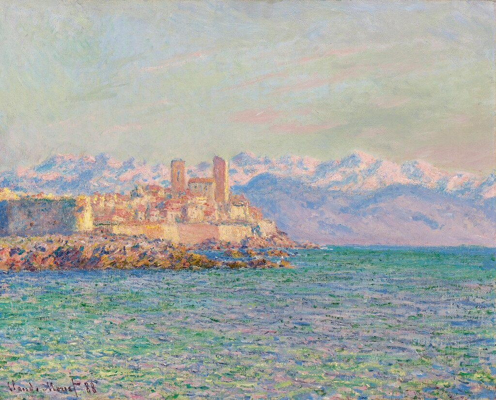 Claude Monet - The Old Fort at Antibes, 1888.jpg