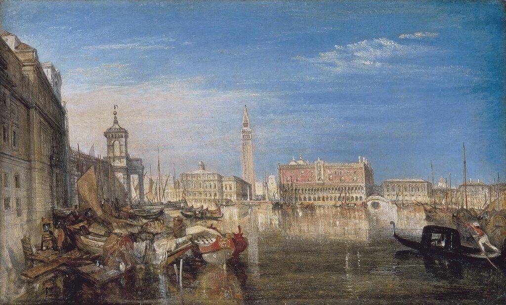 Venice, the Bridge of Sighs, Ducal Palace and Custom House, 1833.jpg