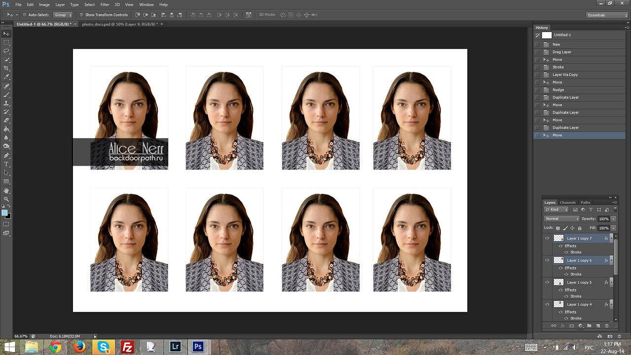 Как сделать из обычного фото с уголком