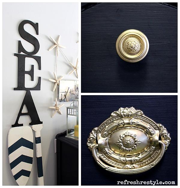 комод, декор в морском стиле, морской дизайн