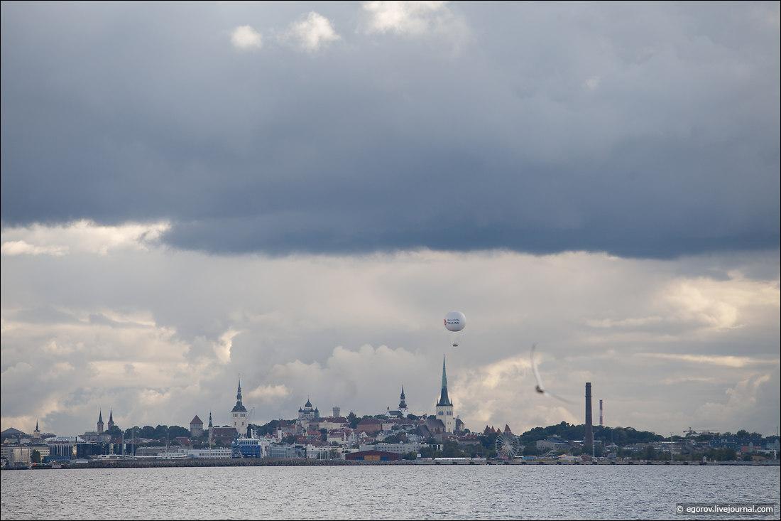 Таллинский Олимпийский центр парусного спорта, он же - яхт-клуб в Пирита