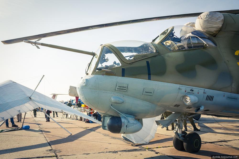 Ми-24П на дне ВВС в Шаголе
