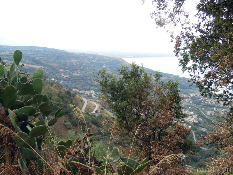 Дорога из Монте Поро в Йопполо