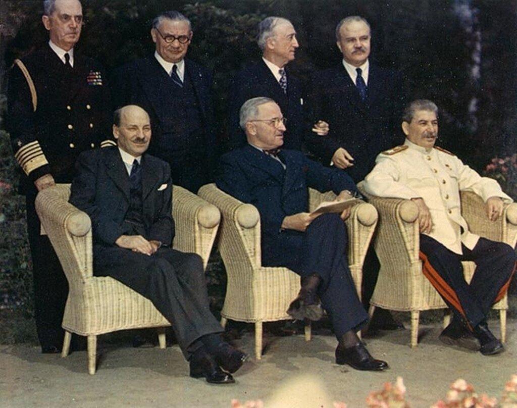 Потсдамская конференция - 70 лет. (62 ФОТО)