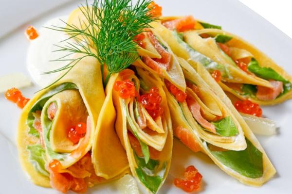 Вкуснейший рецепт с лососем и сыром