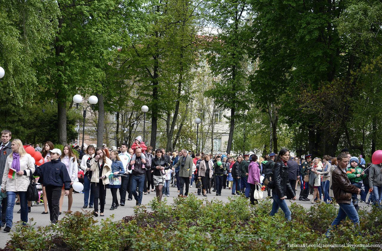 Место встречи – старый парк. 9 Мая. Гомель