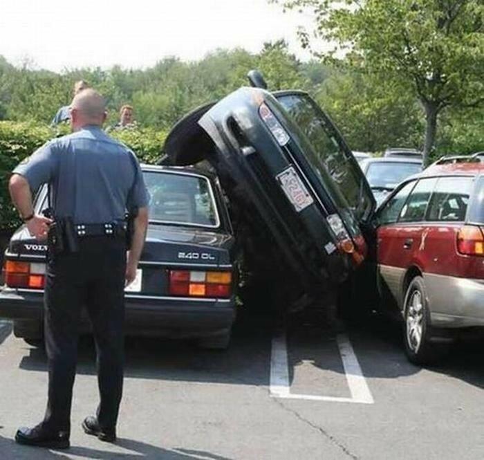 Очень-очень странные-странные автомобильные аварии