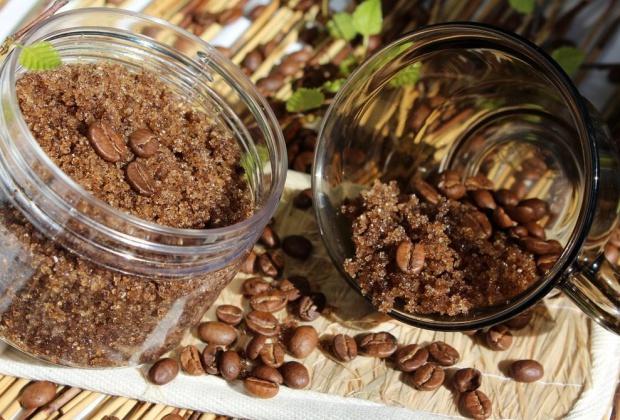 использовать кофе как скраб