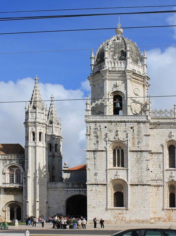 Lisbon. The Jerónimos monastery (Mosteiro dos Jerónimos)