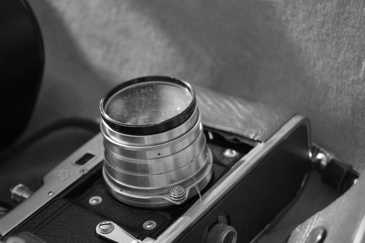 советский аналоговый фотоаппарат