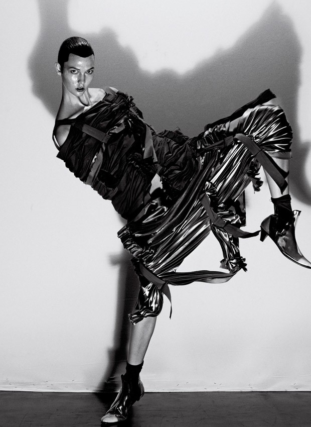 Карли Клосс (Karlie Kloss) в журнале V Magazine