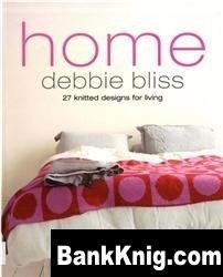 Книга Debbie Bliss Home: 27 Hand Knits For Living jpg 12,48Мб