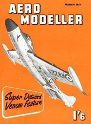 Журнал Aeromodeller Vol.23 No.3 (March 1957)