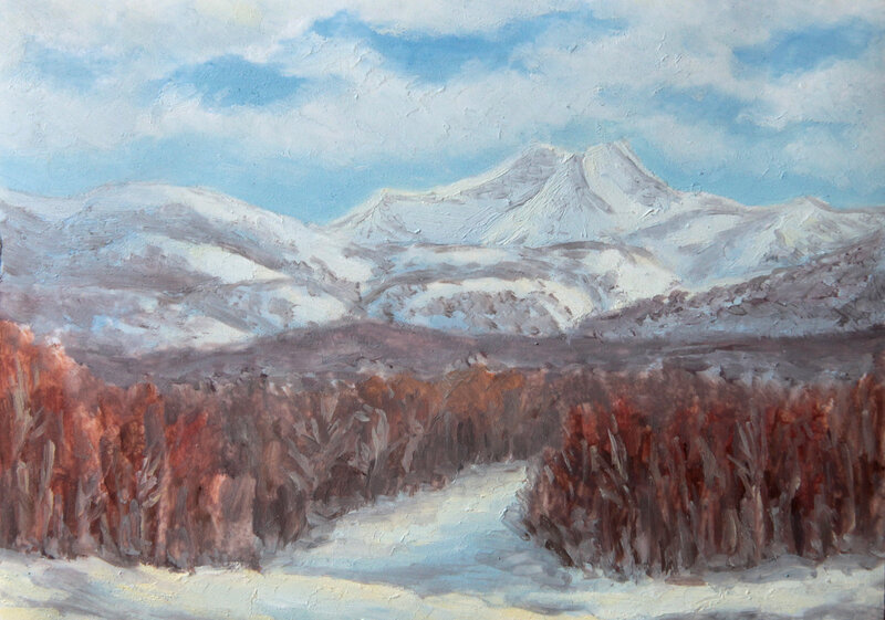 Зимняя Камчатка