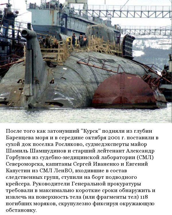 подводная лодка курск тех данные