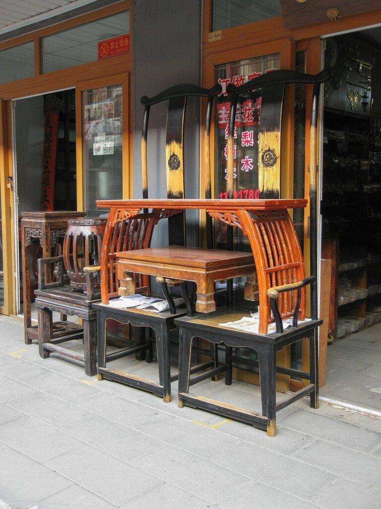 Китайская мебель в классическом стиле