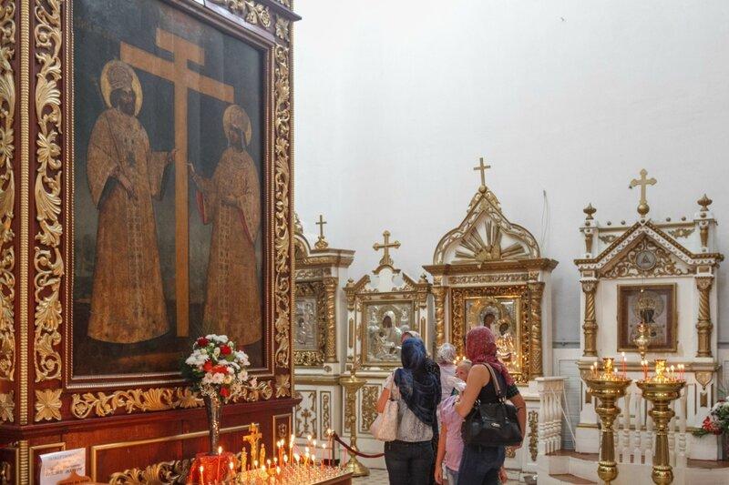 Внутреннее убранство Троицкого собора, Псковский Кром
